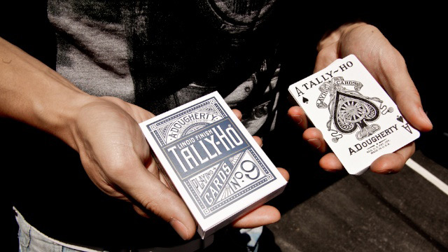 Tally-Ho Titanium Edition Playing Cards